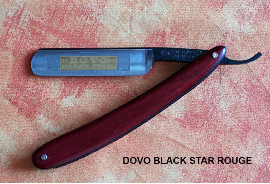 Dovo Black Star ROUGE 001
