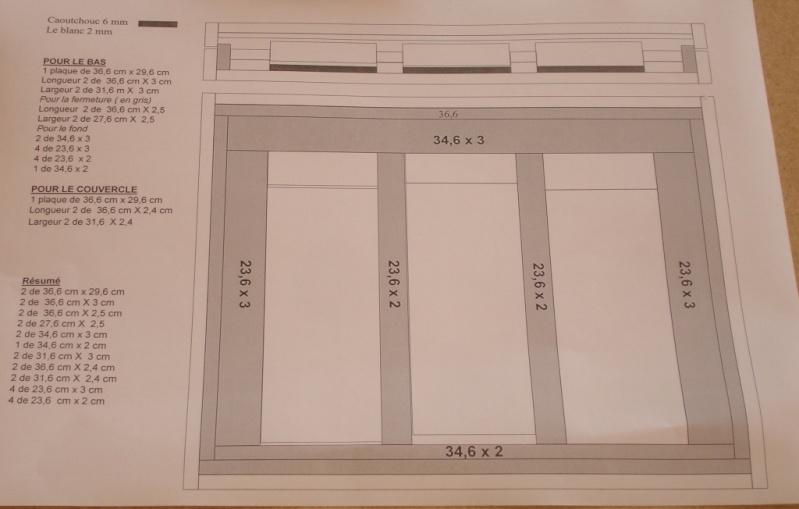 Fabrication d'une boite pour le trio gallois 03