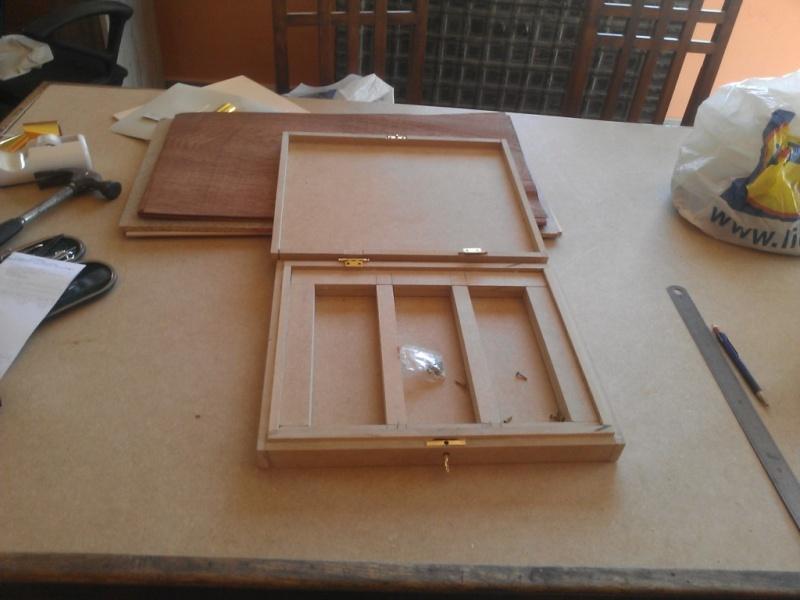 Fabrication d'une boite pour le trio gallois 04
