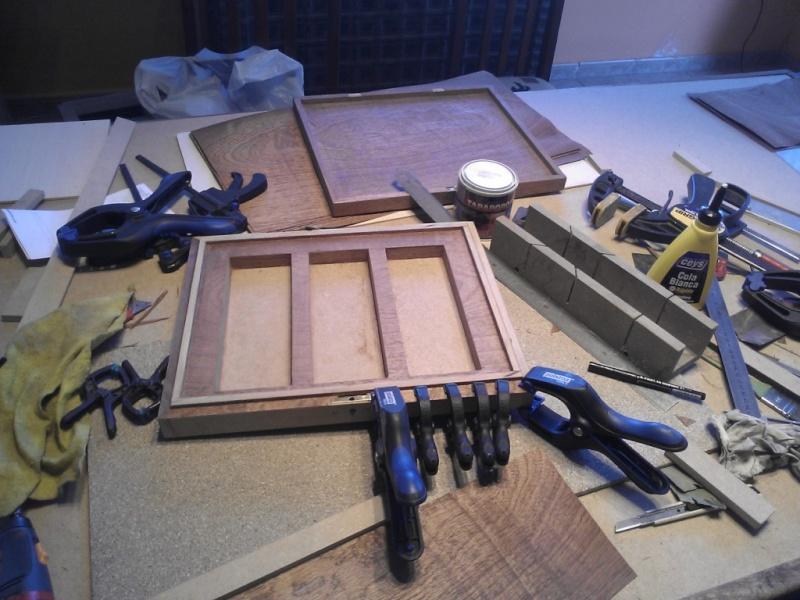 Fabrication d'une boite pour le trio gallois 05