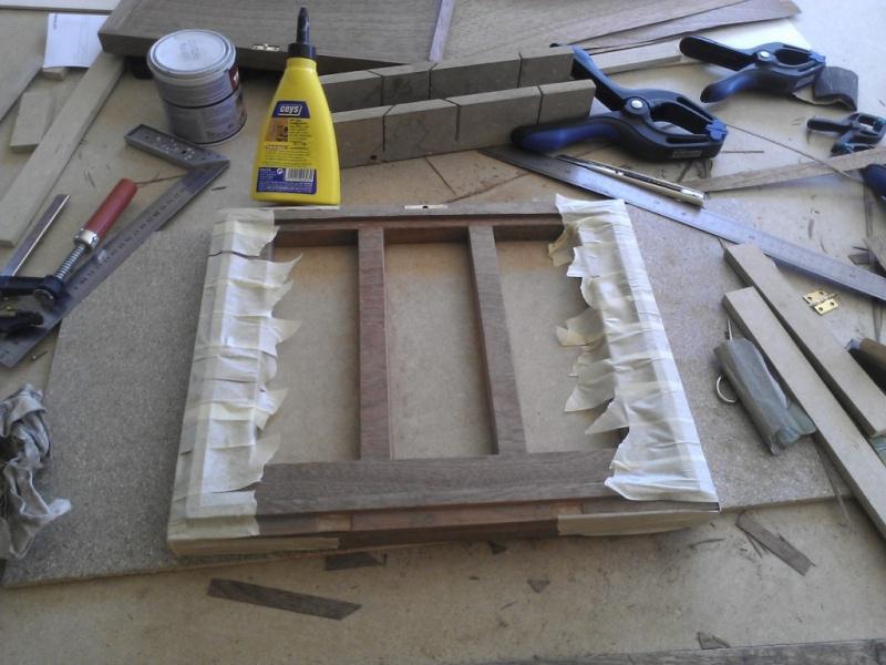 Fabrication d'une boite pour le trio gallois 06