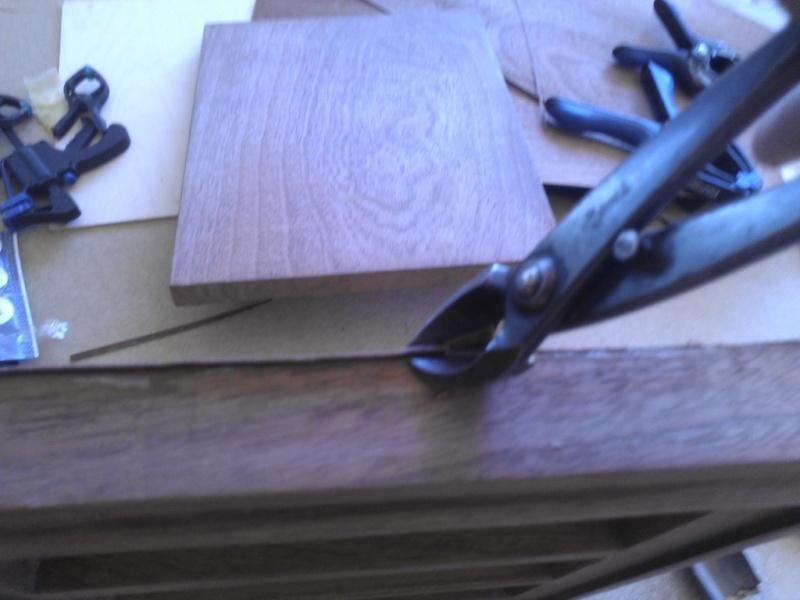 Fabrication d'une boite pour le trio gallois 07