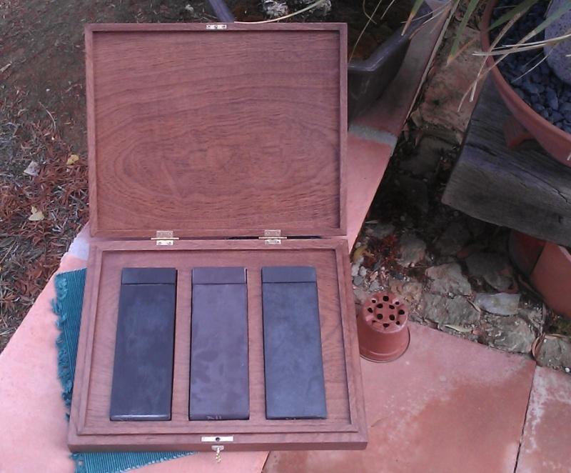 Fabrication d'une boite pour le trio gallois 08