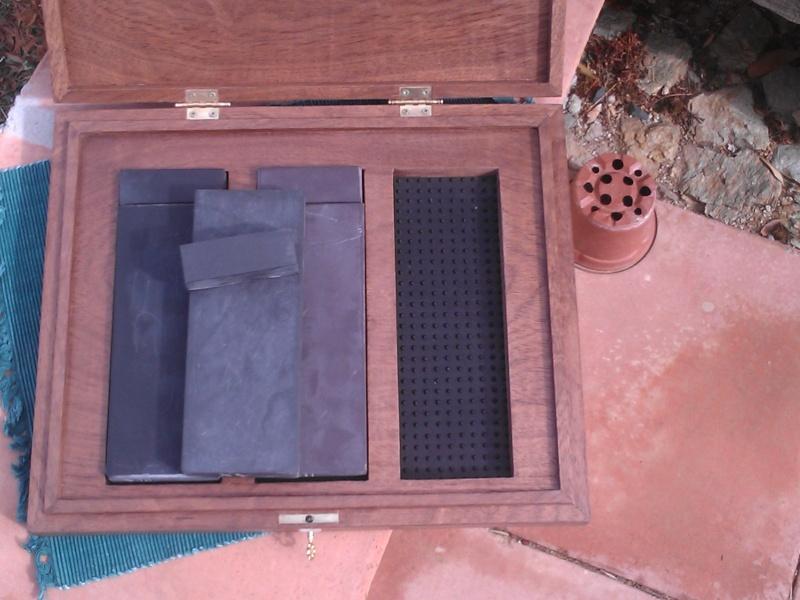 Fabrication d'une boite pour le trio gallois 10