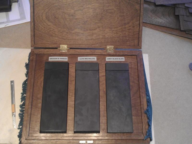Fabrication d'une boite pour le trio gallois 11