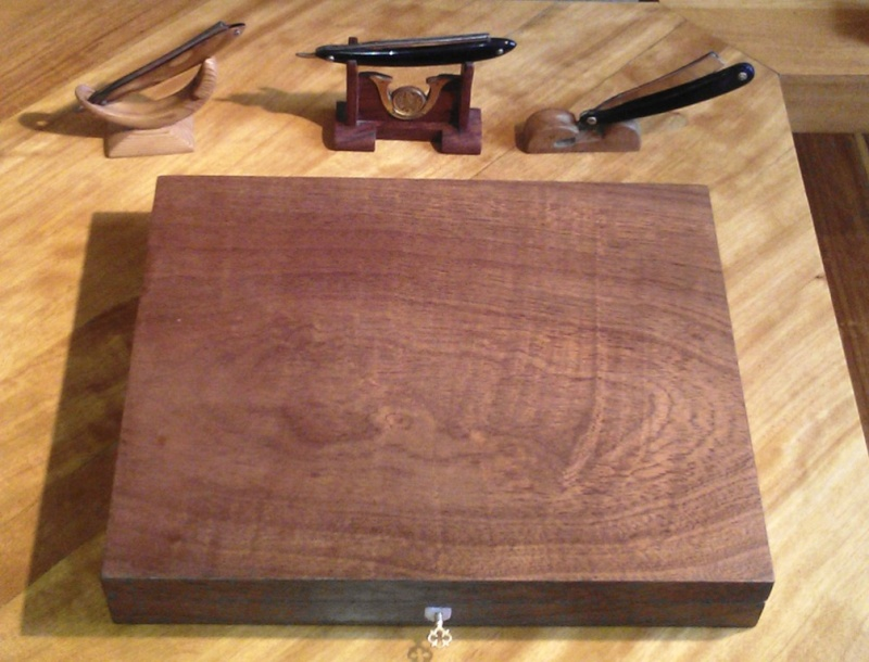 Fabrication d'une boite pour le trio gallois 12