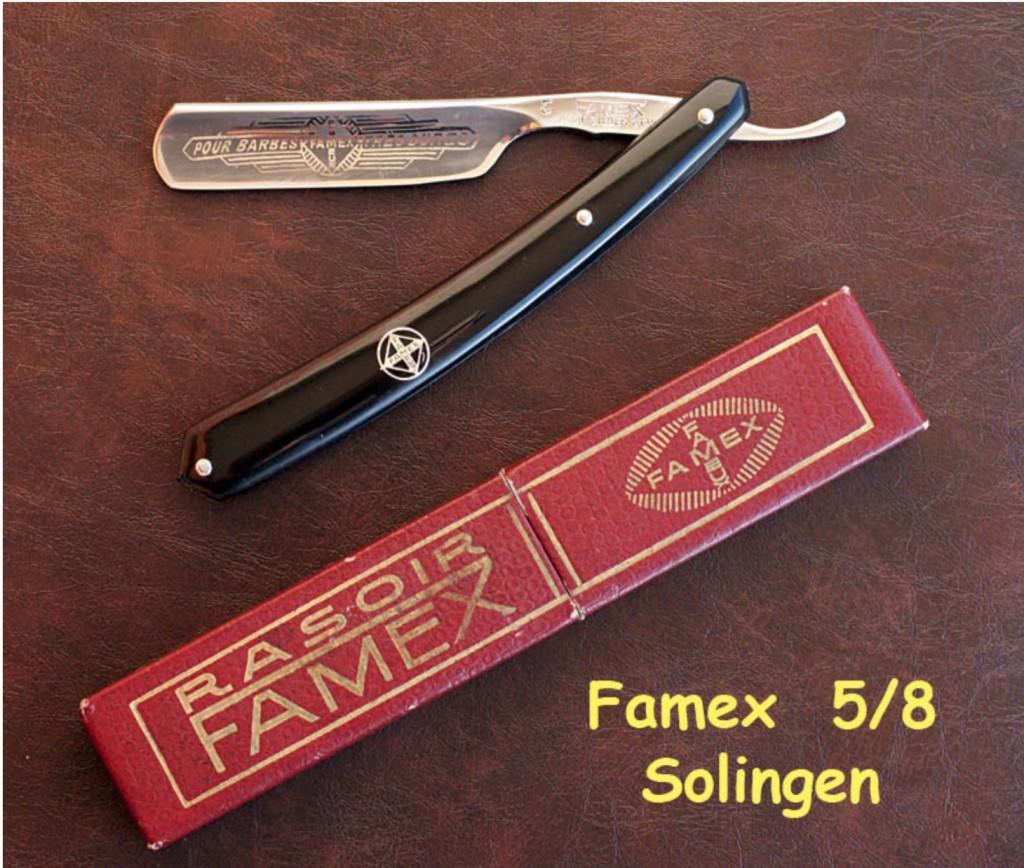 Famex 5:8 noir