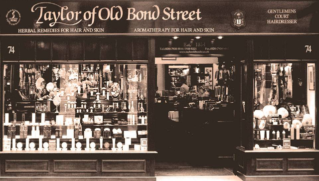 Taylor of Old Bond Street Banner
