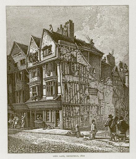 Long Lane, Smithfield, 1810