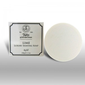 lime shaving soap